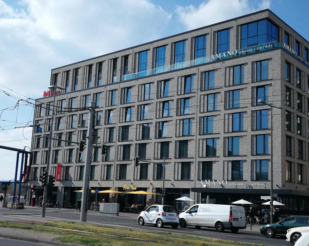 Amano Hotel am Hauptbahnhof Berlin